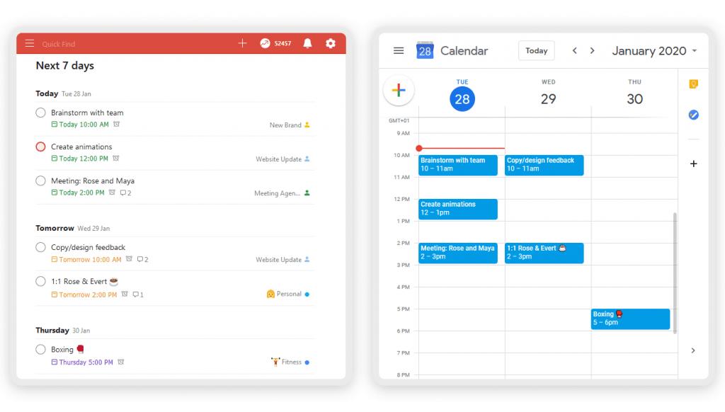 totoist-google-calendar-integration