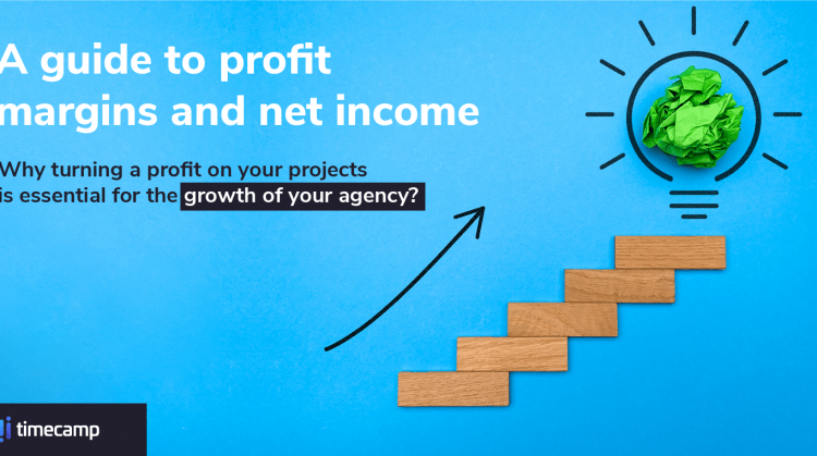 a featured image for our blog post that describes the importance of project profit margins