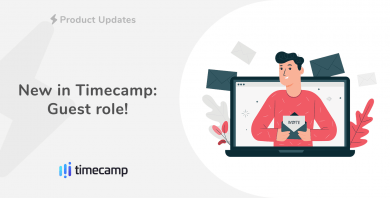 New in Timecamp:  Guest role!