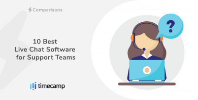The Best Live Chat Software for Support Teams