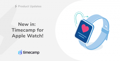 New in: Timecamp for Apple Watch!