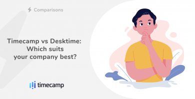 Timecamp vs Desktime: Which suits your company best?