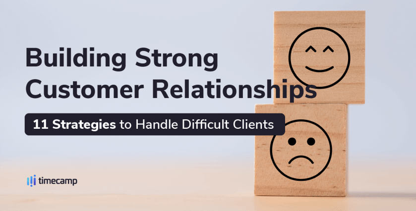 Strategies to handle difficult clients - header image