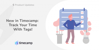 New in TimeCamp: Track Your Time With Tags!