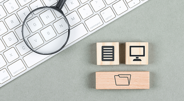 keyboard and wooden blocks