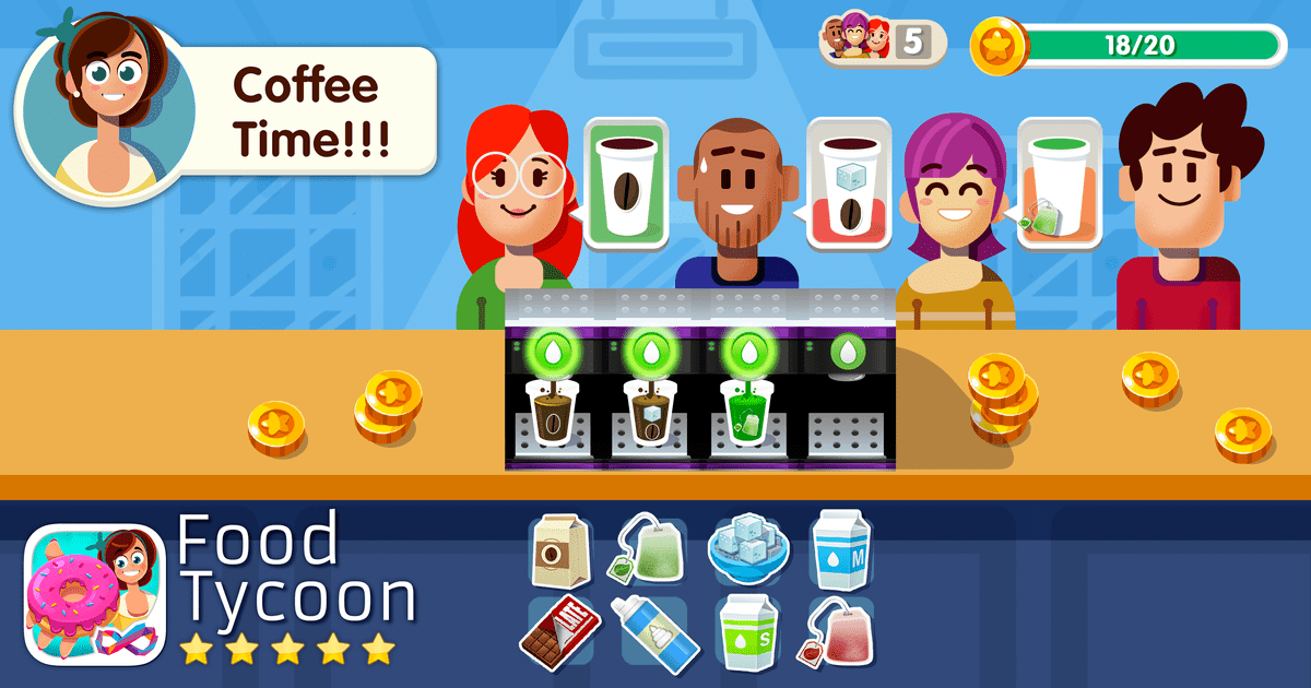 food tycoon screenshot