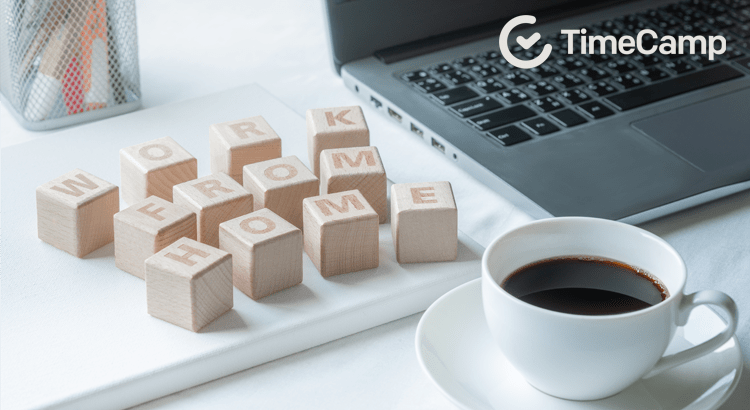 wooden blocks remote work