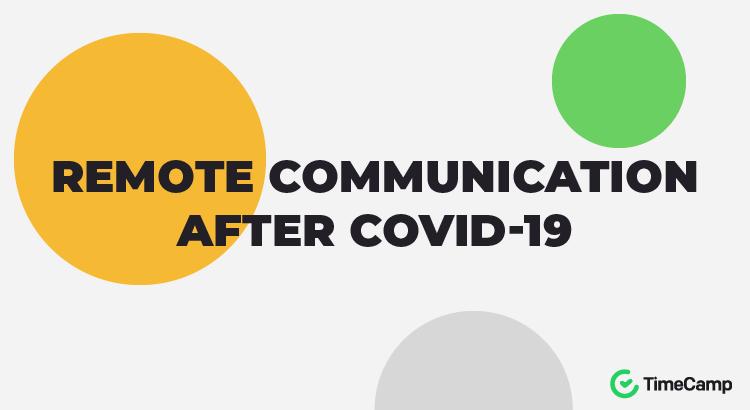 remote communication report