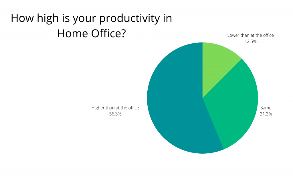 Productivity in Home Office