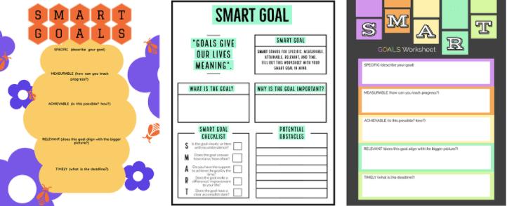 Goal Tracker Template SMART