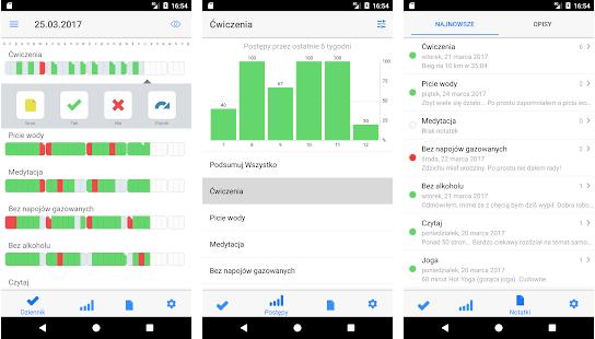 Habit tracking app Way of Life