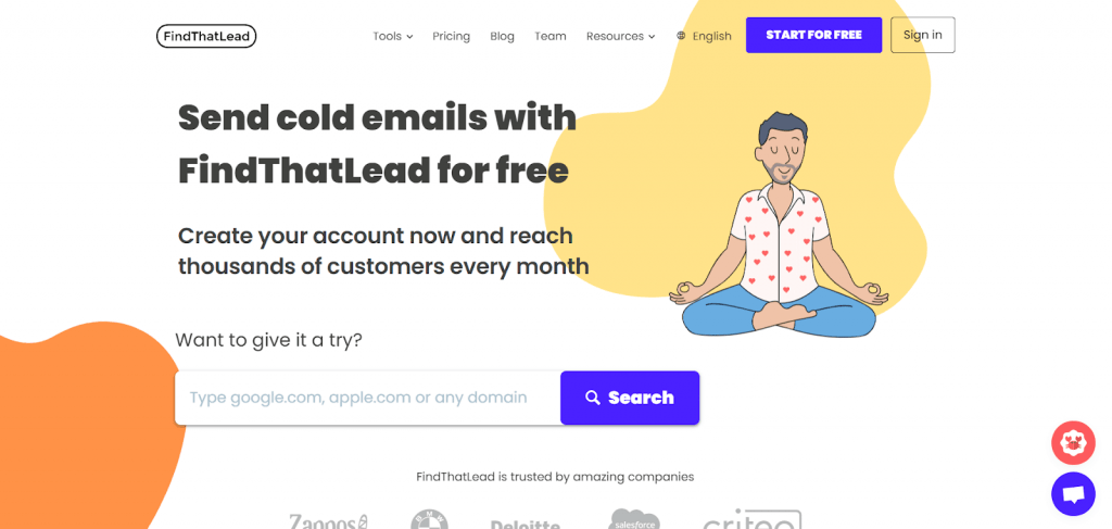 email finder tools snow.io