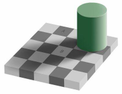 Adelson's checker