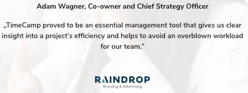 Review Raindrop