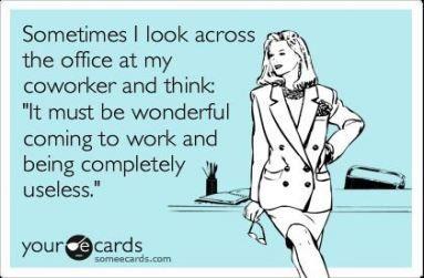 Lazy coworker meme