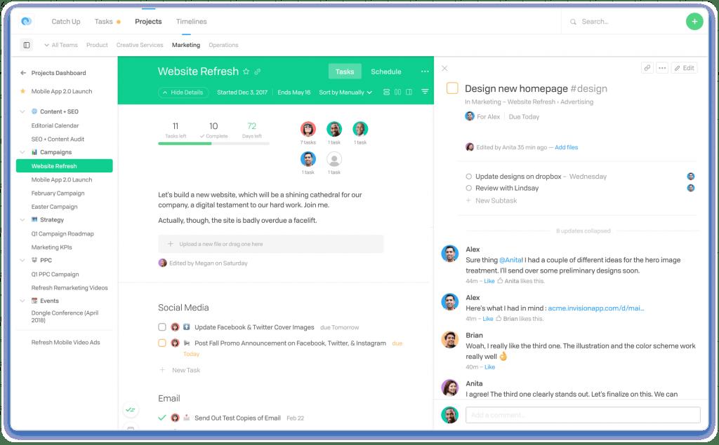 Flow software elaborado para gestionar tareas