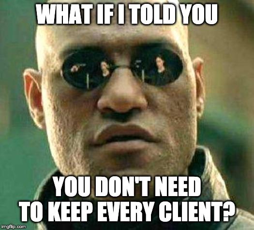 sprzeczki z klientami